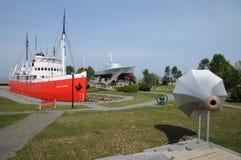 Historisch zeemuseum van l-Eilandje sur mer Stock Foto's