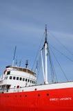 Historisch zeemuseum van l-Eilandje sur mer Stock Foto