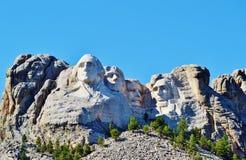 Historisch zet Rushmore op Stock Afbeeldingen