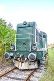 Historische österreichische Diesellokomotive 2045 lizenzfreie stockfotografie