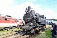 Historische österreichische zurückstellende Dampfmaschine 3033 stockfotos