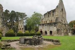 Historische abdijruïnes Stock Foto's