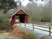 Historische abgedeckte Brücke Lizenzfreies Stockbild
