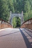 Historische Alexandra Bridge Fraser River royalty-vrije stock fotografie