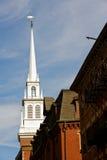 Historische alte Nordkirche Lizenzfreie Stockbilder