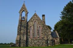 Historische amerikanische Kirche 1800s Stockfoto