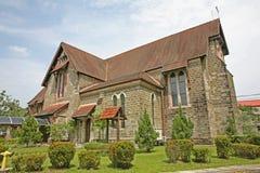 Historische anglikanische Kirche in Sandakan lizenzfreies stockbild