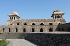 Historische architectuur, het paviljoen van ranienroopmati Stock Foto's