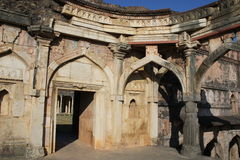 Historische architectuur, malik mughith moskee Royalty-vrije Stock Foto