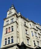 Historische architectuur in Praag Stock Foto's