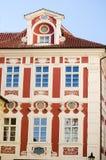 Historische architectuur in Praag Royalty-vrije Stock Foto