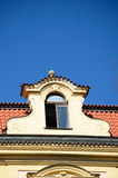 Historische architectuur in Praag Royalty-vrije Stock Foto's