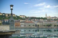 Historische architectuur van Boedapest, Hongarije Royalty-vrije Stock Fotografie