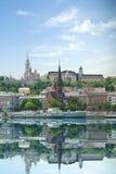 Historische architectuur van Boedapest, Hongarije Royalty-vrije Stock Afbeelding