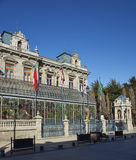 Historische Architectuur van Punta Arenas, Chili Stock Foto's