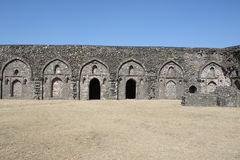 Historische Architektur, chishti khans Palast, mandu, Madhya Pradesh, Indien lizenzfreie stockfotografie