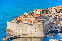 Historische Architektur in Kroatien, adriatische Küste Lizenzfreie Stockfotos