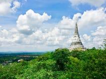 Historische Architektur Pagode Phra Nakhon Khiri Khao Wang Stockfotos