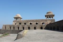 Historische Architektur, Ranis roopmati Pavillon Stockbild