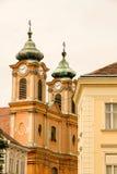 Historische Architektur in Sopron Stockbild