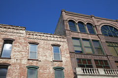 Historische Architektur von Rockford Stockbild