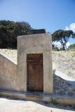 Historische Armee-Mittel-Tür Stockbilder
