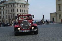 Historische auto's Royalty-vrije Stock Afbeeldingen