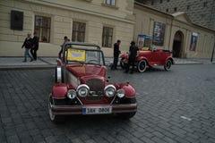 Historische auto's Stock Foto