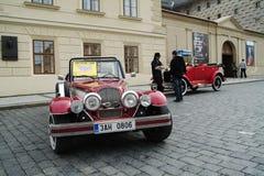 Historische auto's Royalty-vrije Stock Foto