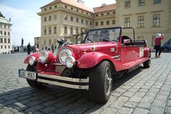 Historische auto's Royalty-vrije Stock Afbeelding