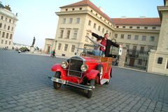 Historische auto's Stock Fotografie