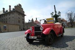 Historische auto's Stock Afbeelding