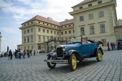 Historische auto's Royalty-vrije Stock Fotografie