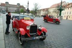 Historische auto's Stock Foto's