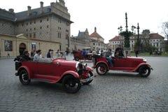 Historische Autos Lizenzfreie Stockbilder