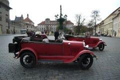 Historische Autos Lizenzfreies Stockfoto