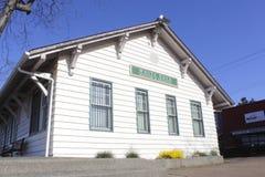Historische Bahnstation Lizenzfreies Stockbild
