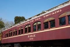 Historische Bahnwagen Lizenzfreies Stockfoto