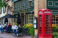 Historische Bar in Savanne stock foto