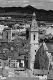 Historische Basilika in Xativa Stockfotografie
