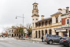 Historische Beeworth-Post Stockbilder