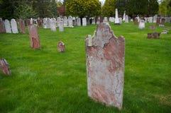 Historische begraafplaats Stock Foto's
