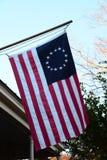 Historische Betsy Ross Flag Stockbilder