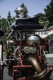 Historische brandvrachtwagen Stock Foto