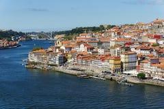 Historische centrumstad van Porto Royalty-vrije Stock Afbeelding