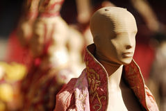 Historische chinesische Kleidung Stockfotos