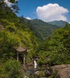 Historische chinesische Wanderwege lizenzfreie stockfotografie