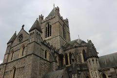 Historische Christus-Kirche in Dublin Ireland Lizenzfreie Stockfotografie
