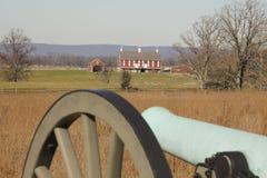 Historische Daniel-Dame Farm in Gettysburg, PA stockbilder