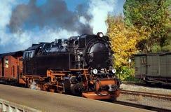 Historische deutsche Dampfserie Stockfoto